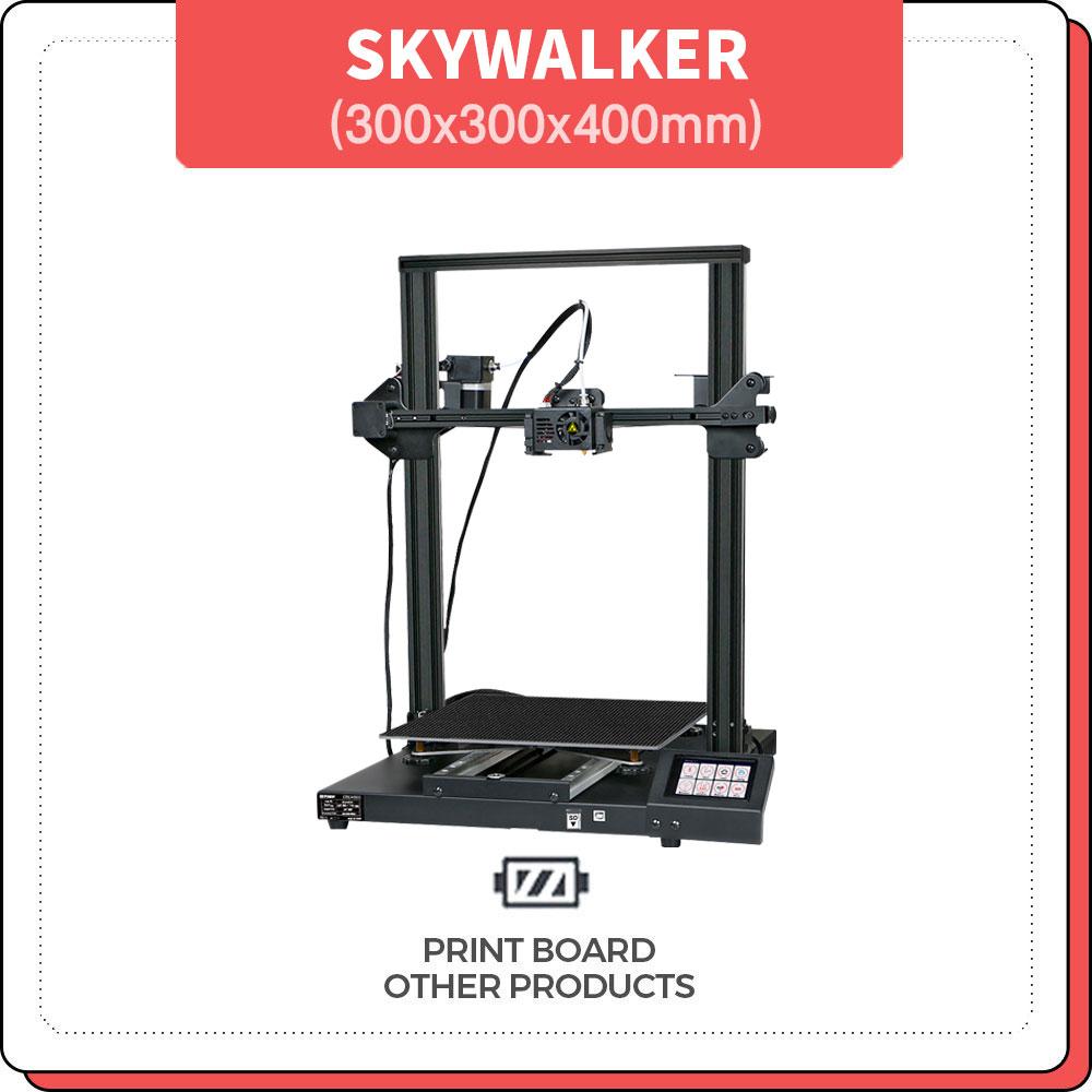 프린트보드 SKYWALKER 3D 프린터 300x300x400mm