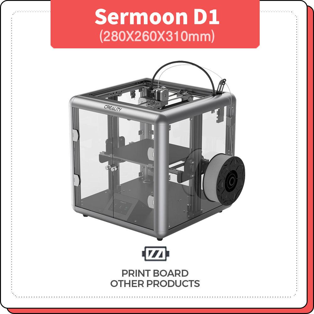 프린트보드 Sermoon D1 Creality 챔버형 3D프린터
