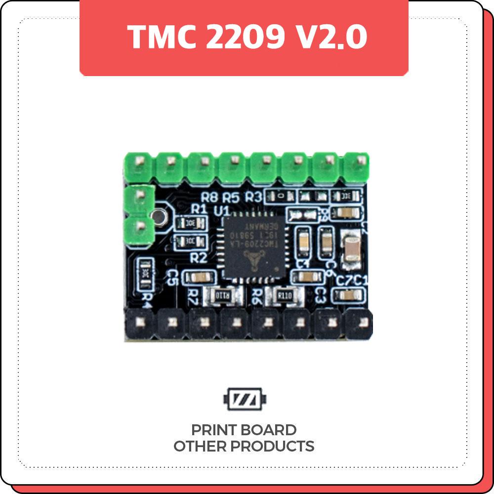 프린트보드 TMC 2209 V2.0 (방열판포함)