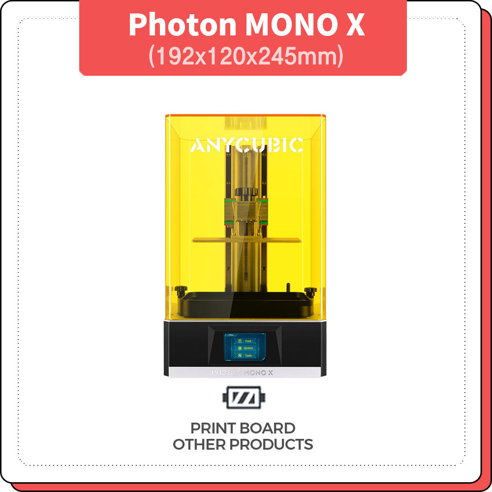 프린트보드 애니큐빅 포톤모노엑스 4k Anycubic Photon mono X