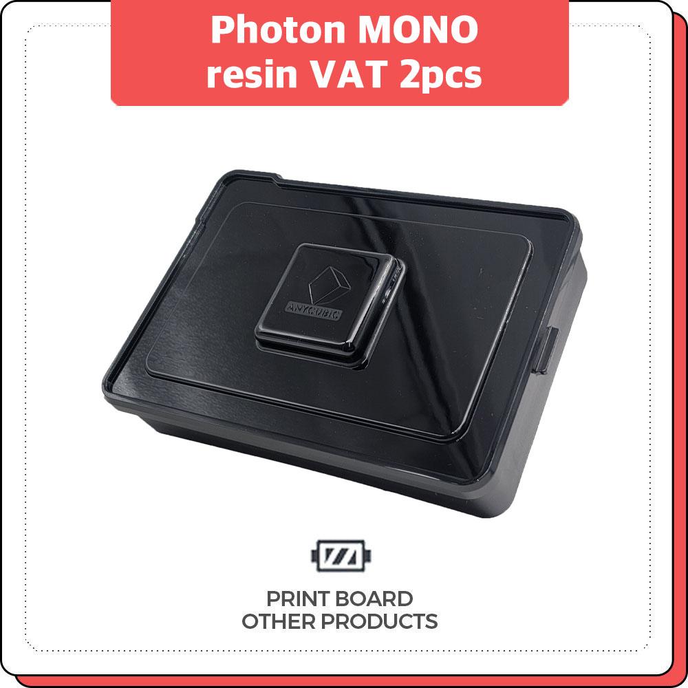 프린트보드 Photon MONO resin VAT 2pcs