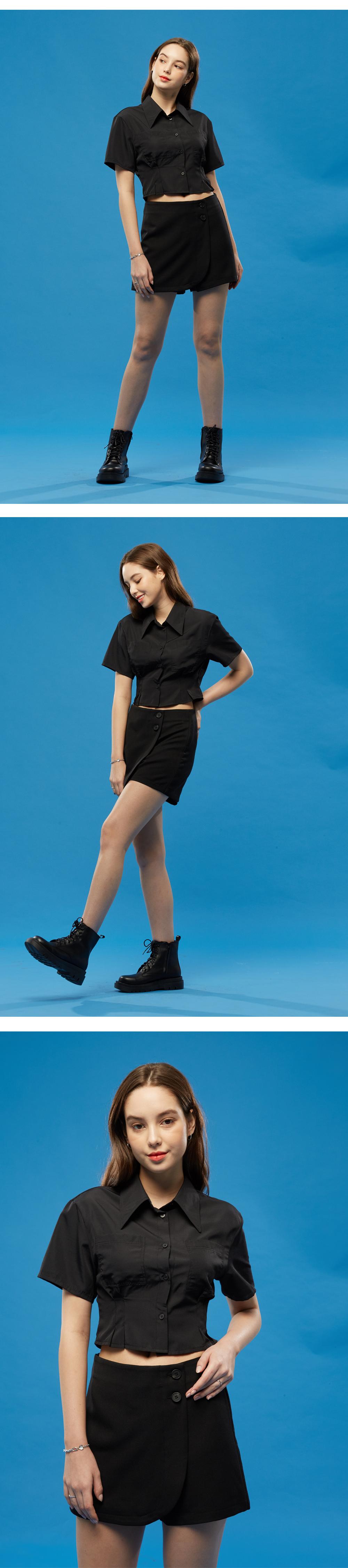 블랙 슬림 크롭 셔츠 상세 2.jpg